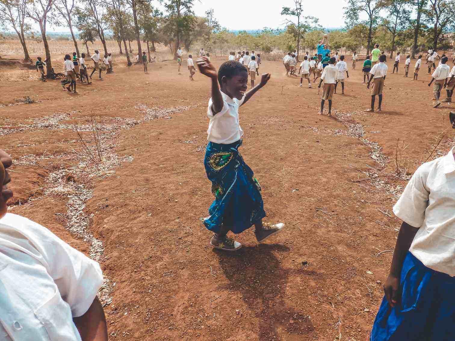 Tanzanian School Child