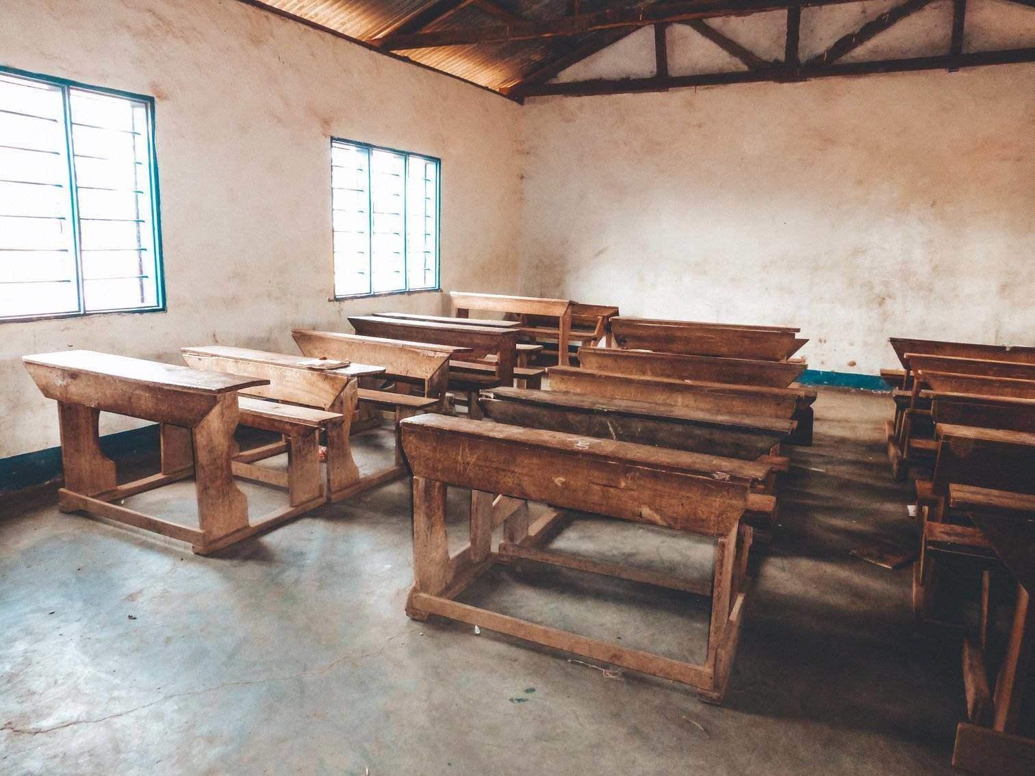 Tanzanian School Classroom