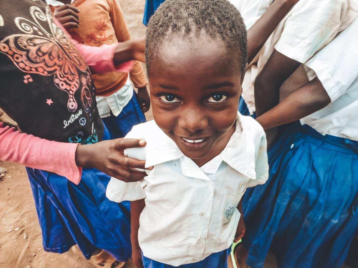 Tanzanian School Girl