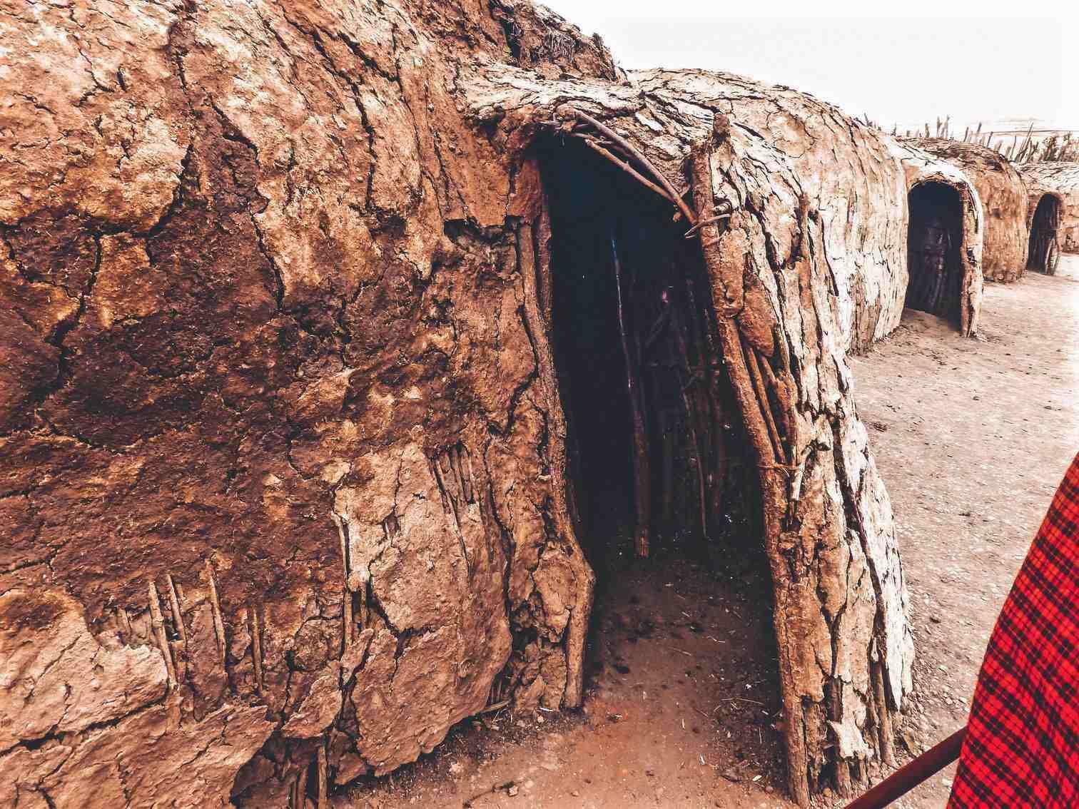 Maasai Mud Hut