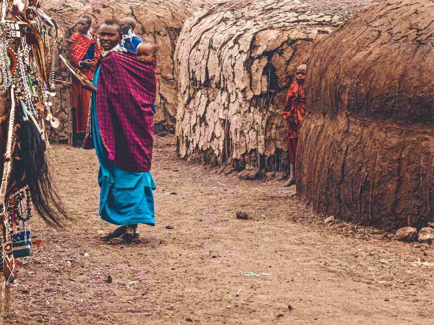 Maasai Tribe Baby