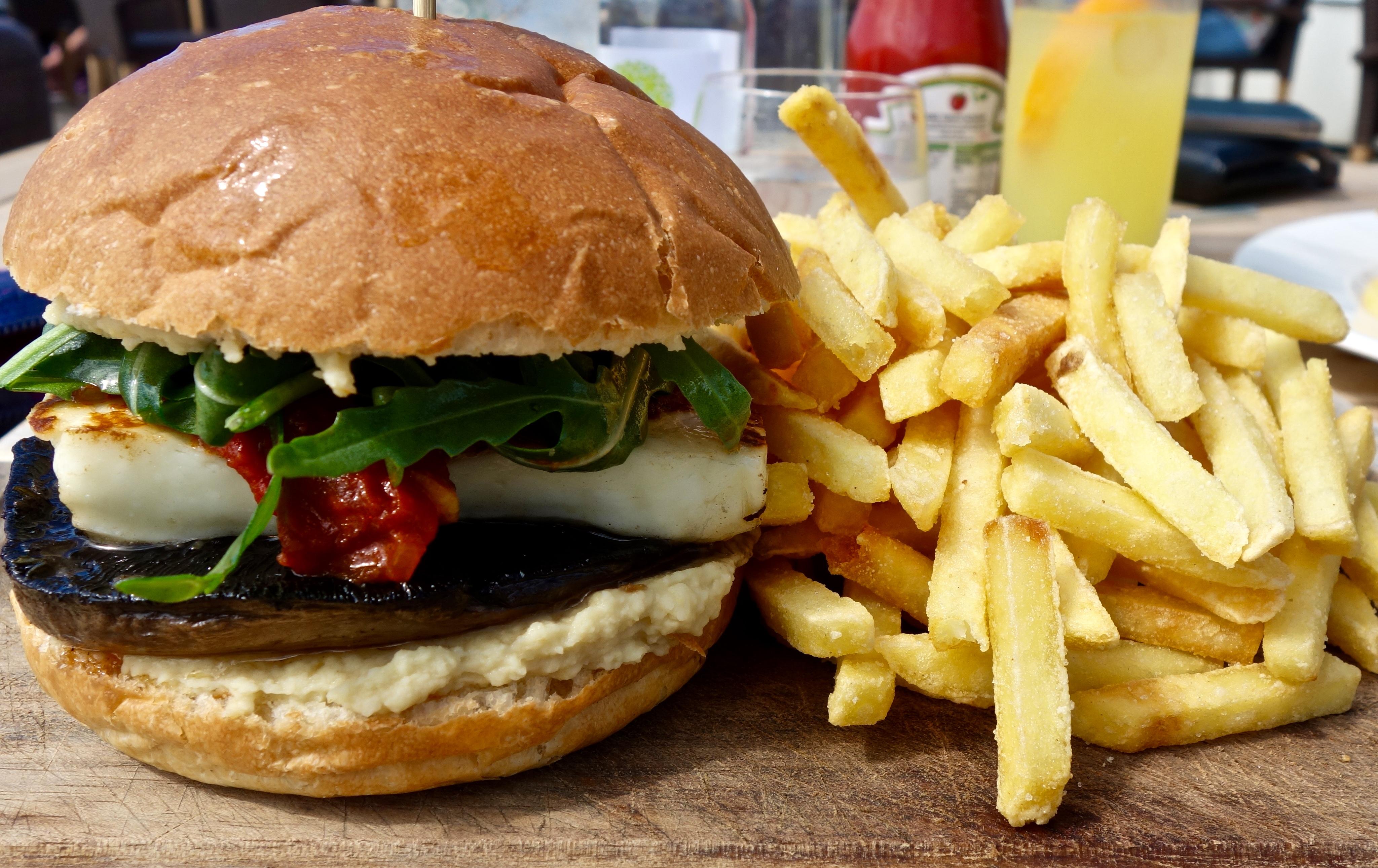 Watergate Bay Hotel burger