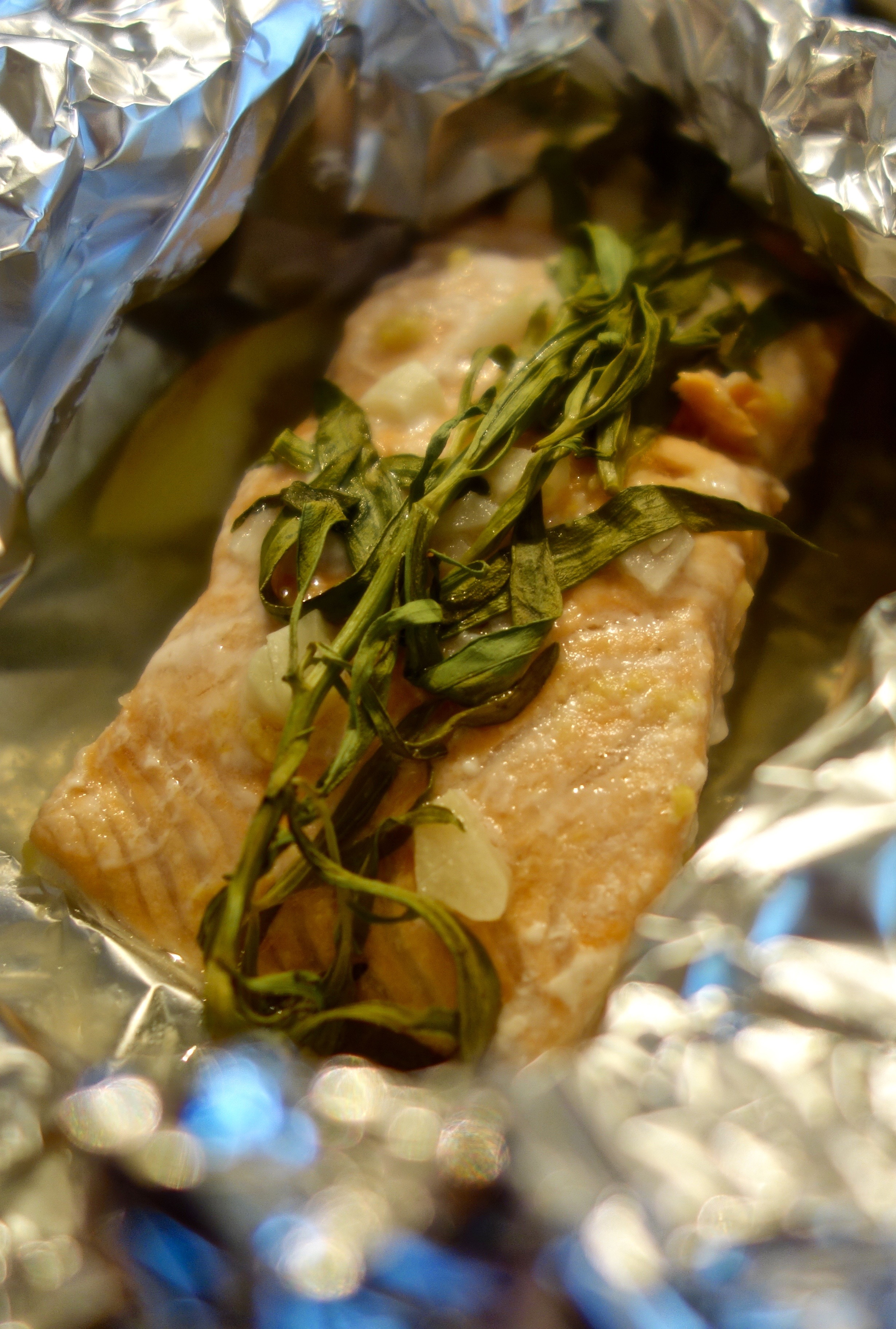 Lemon Tarragon Salmon