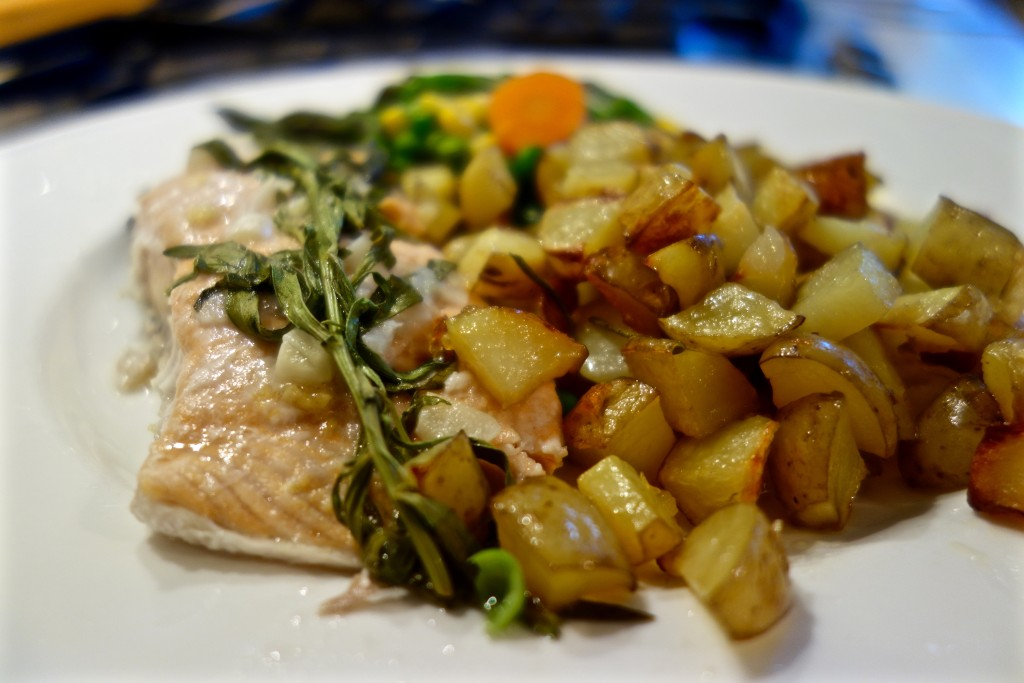 Lemon Tarragon Salmon