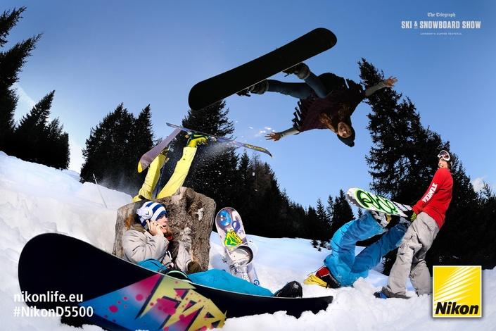 Nikon snowboard Telegraph Ski & Snowboard Show