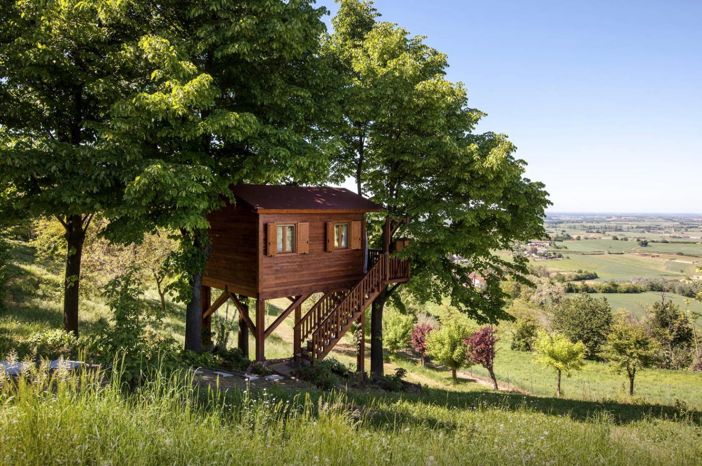 Treehouse Retreats - Aroma(n)tica, Italy Airbnb