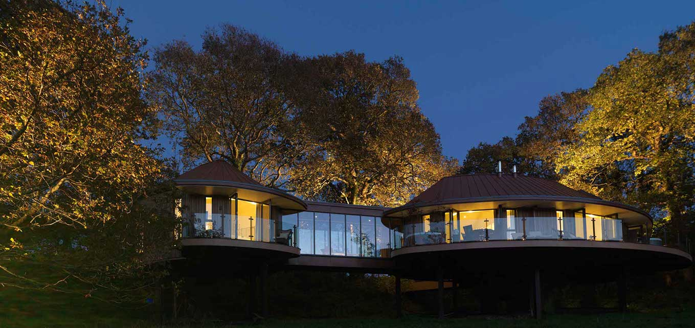 Treehouse retreats - Chewton Glen