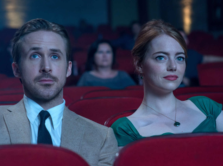 La La Land cinema scene
