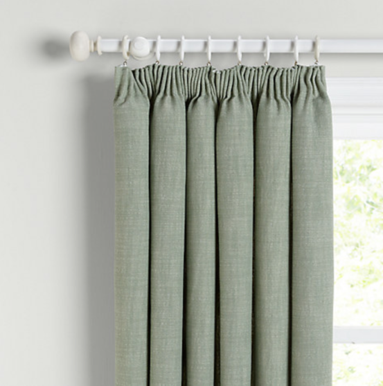 Green curtains JL