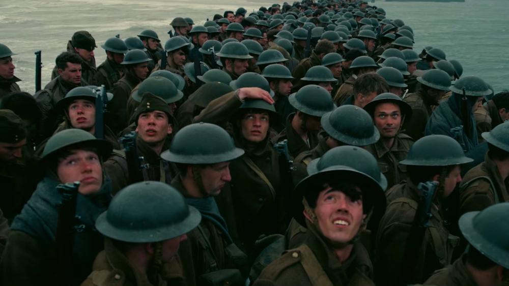 Dunkirk Film Soldiers