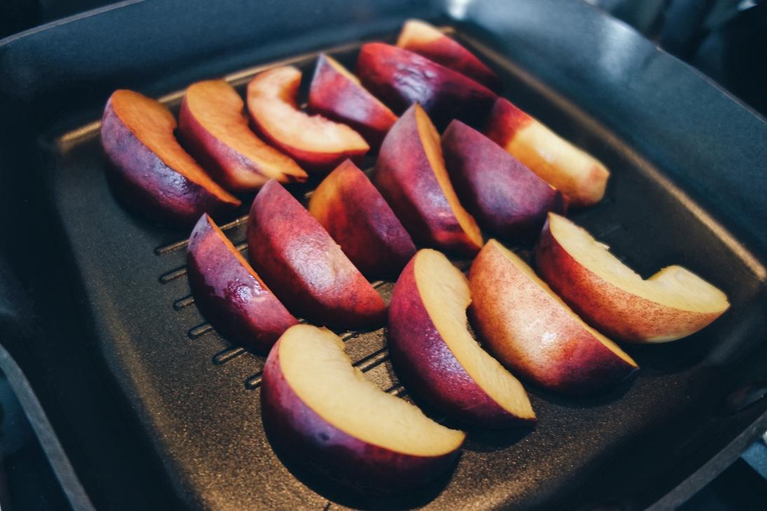 Peach griddle