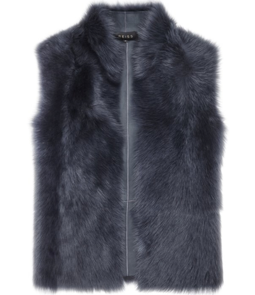 Reiss fur gilet