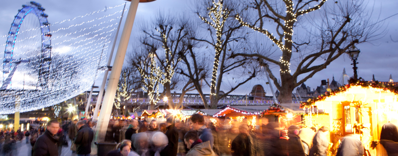 Wintertime at Southbank