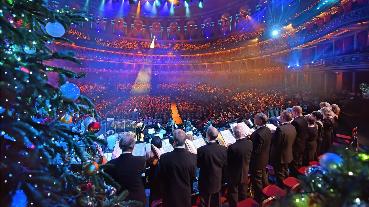 Royal Albert Hall at Christmas