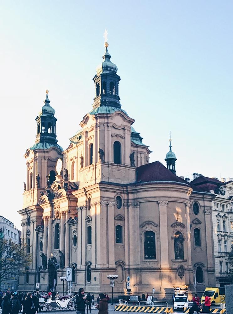 Prague Square Architecture