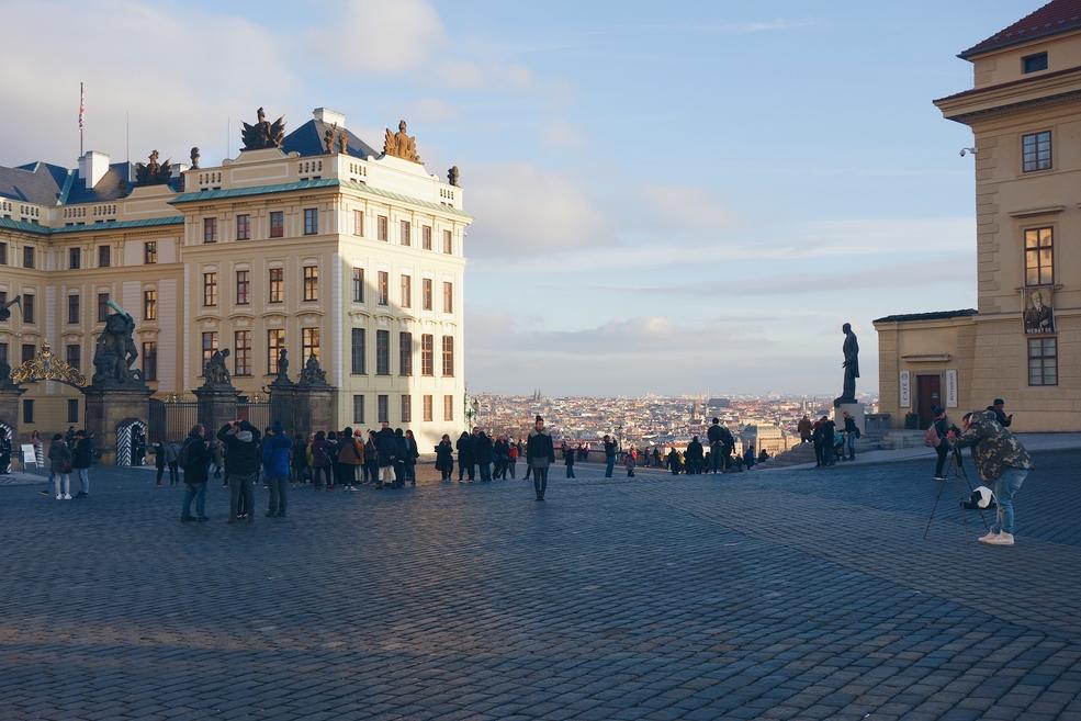 Prague Castle Square