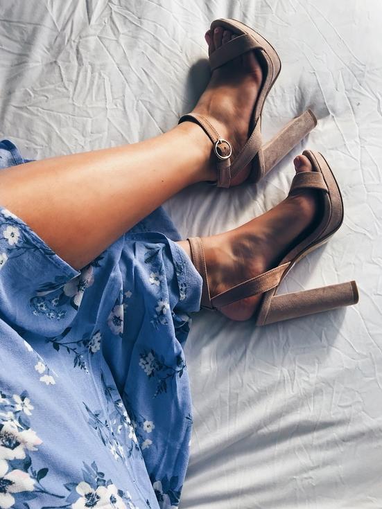 Topshop platform heels