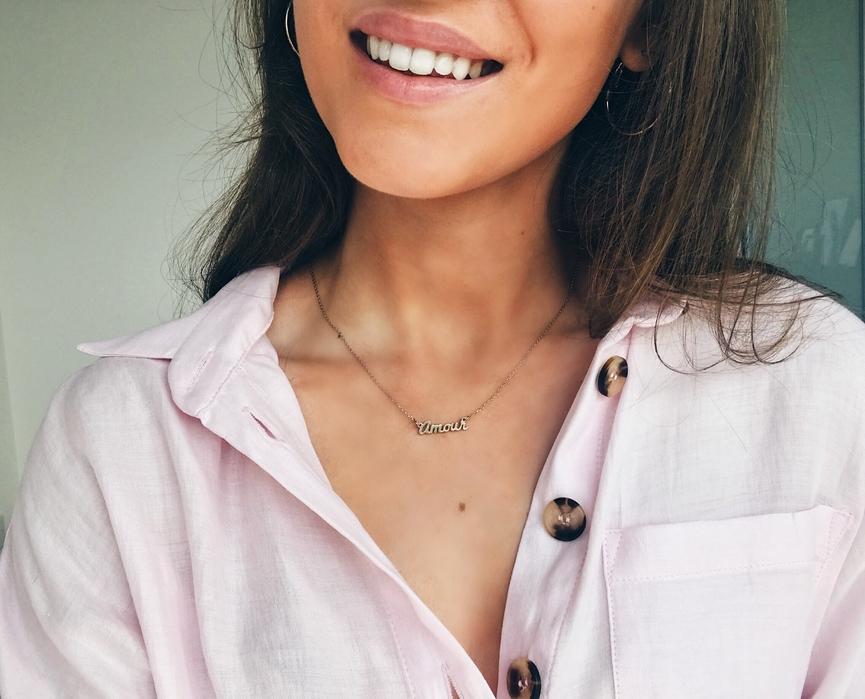 Amour necklace Topshop
