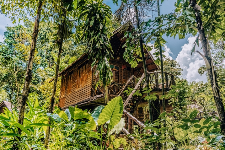 Thailand treehouse stay