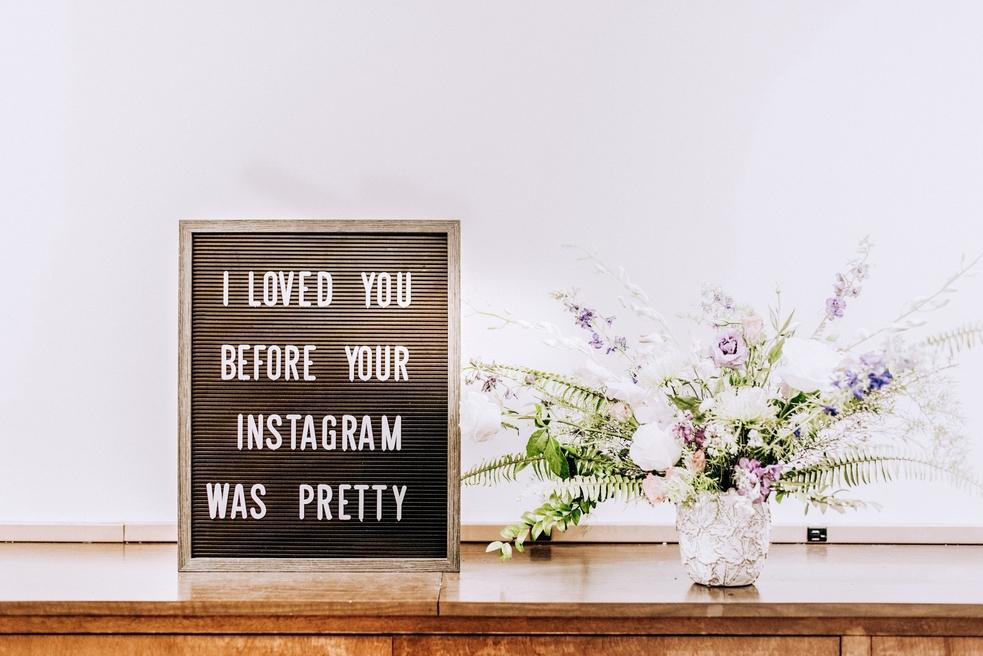 Instagram presence