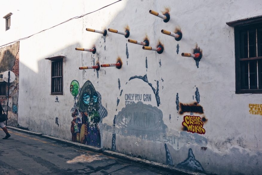 Ernest Zacharevic Street Art