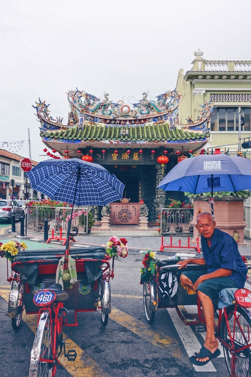 Old town of Penang