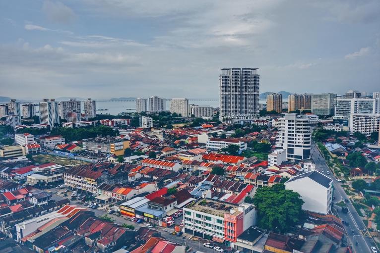 View over Penang, Malaysia