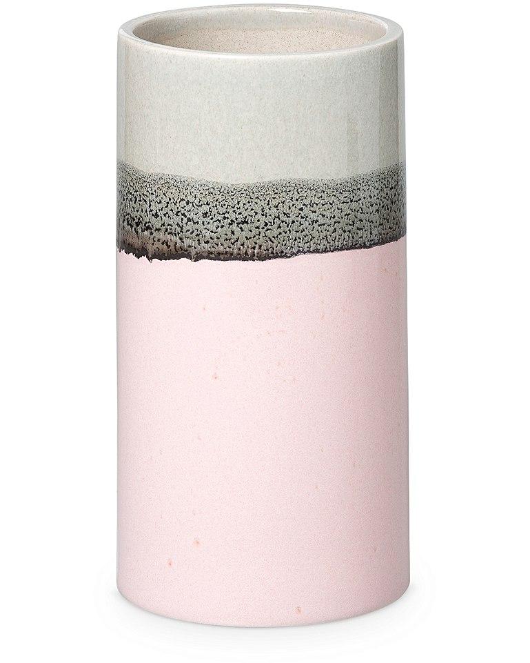 Oliver Bonas bu pink & grey ceramic vase
