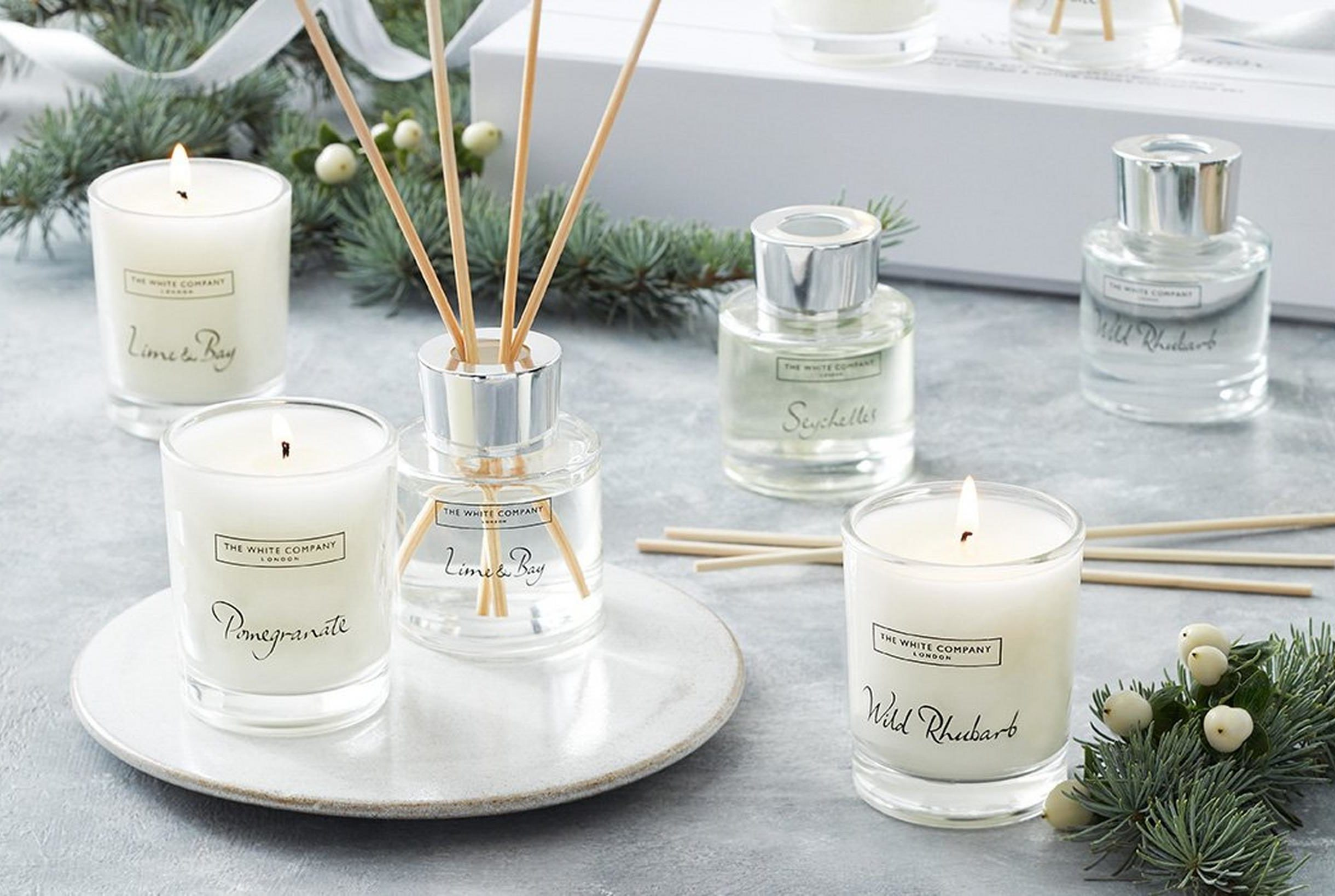The White Company lime bay diffuser
