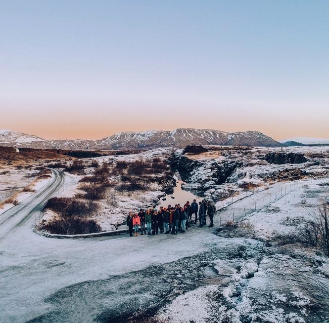 Contiki National Park Iceland