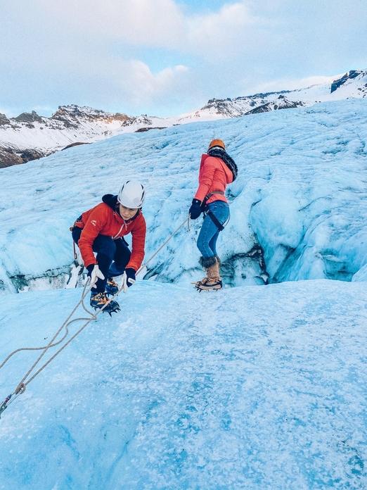 Skaftafellsjokull Glacier climb