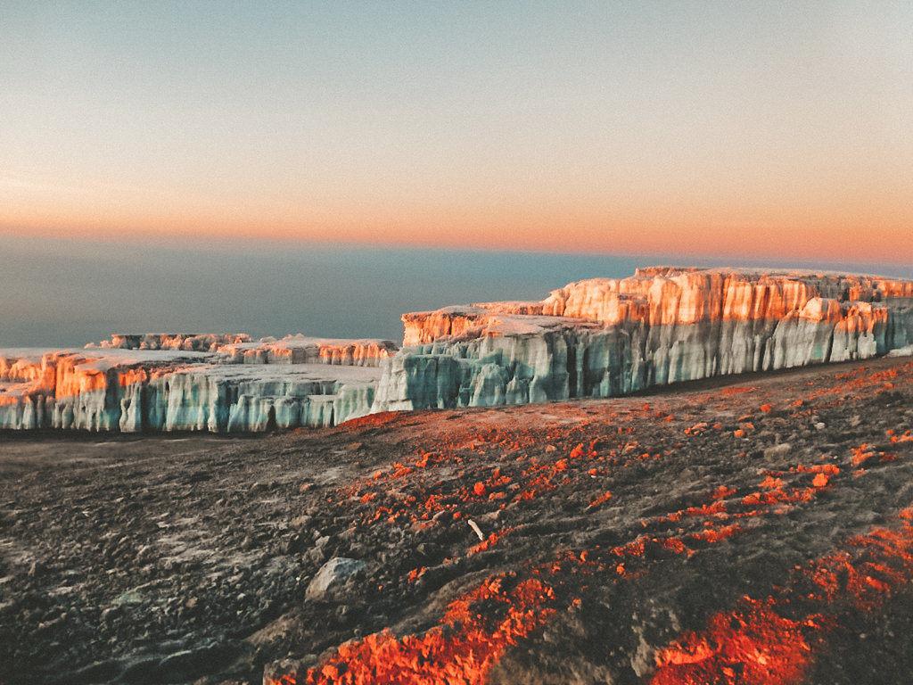 Kilimanjaro Glacier