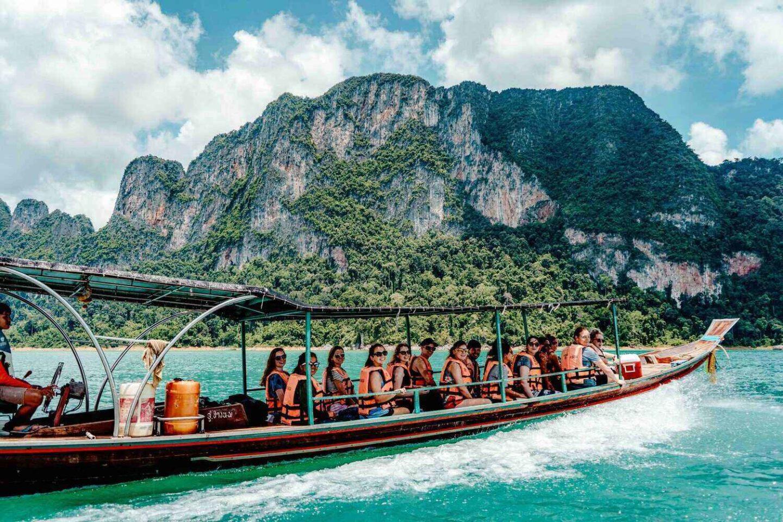 Long Tail Boat Khao Sok