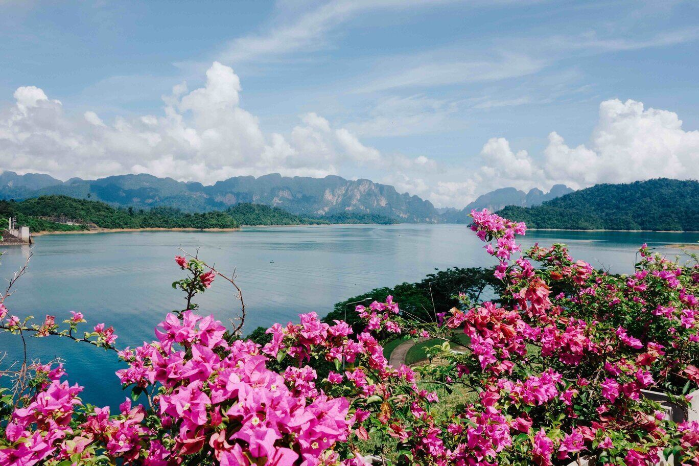 View of Khao Sok National Park