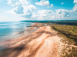 Camber Sands Aerial
