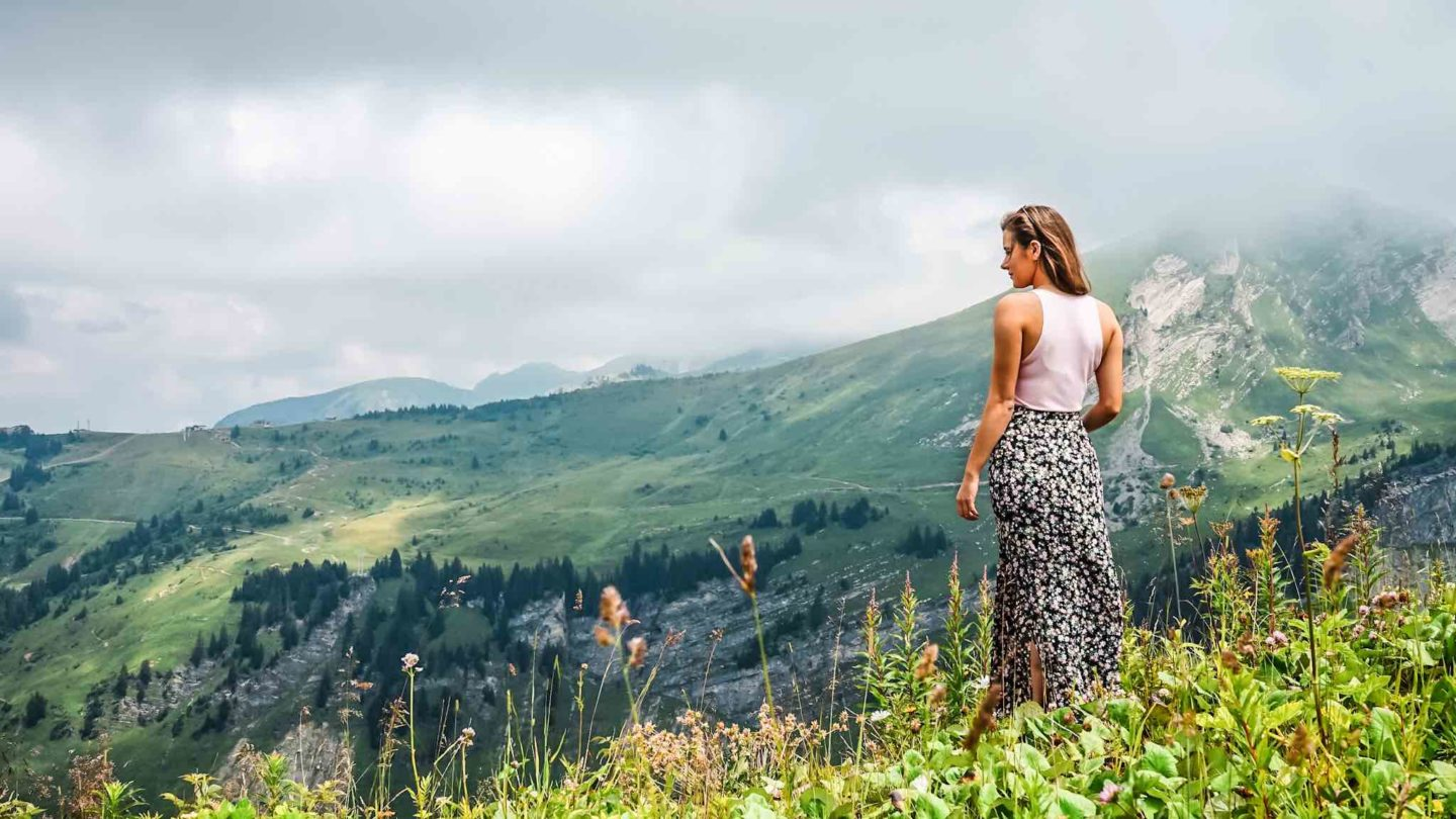 A summer holiday to Morzine in the French Alps