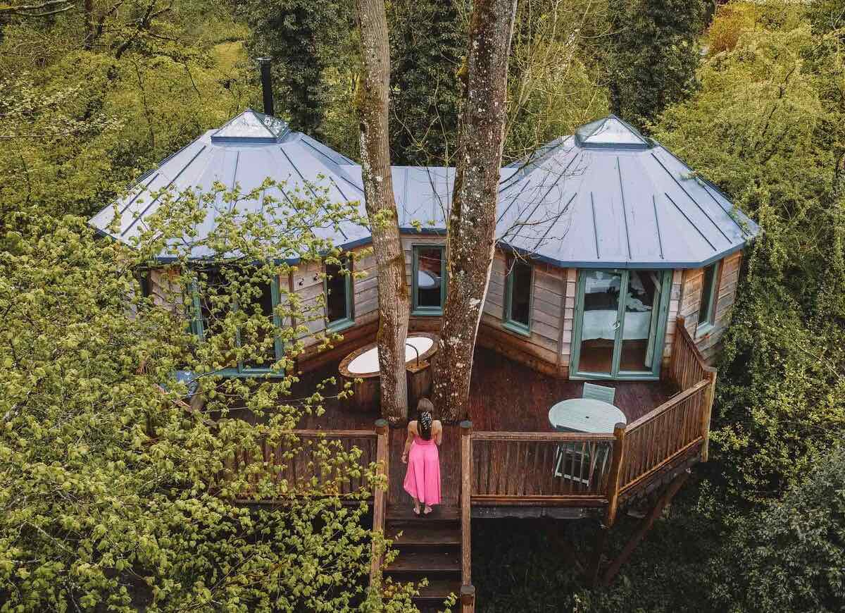Treehouse Stay Somerset
