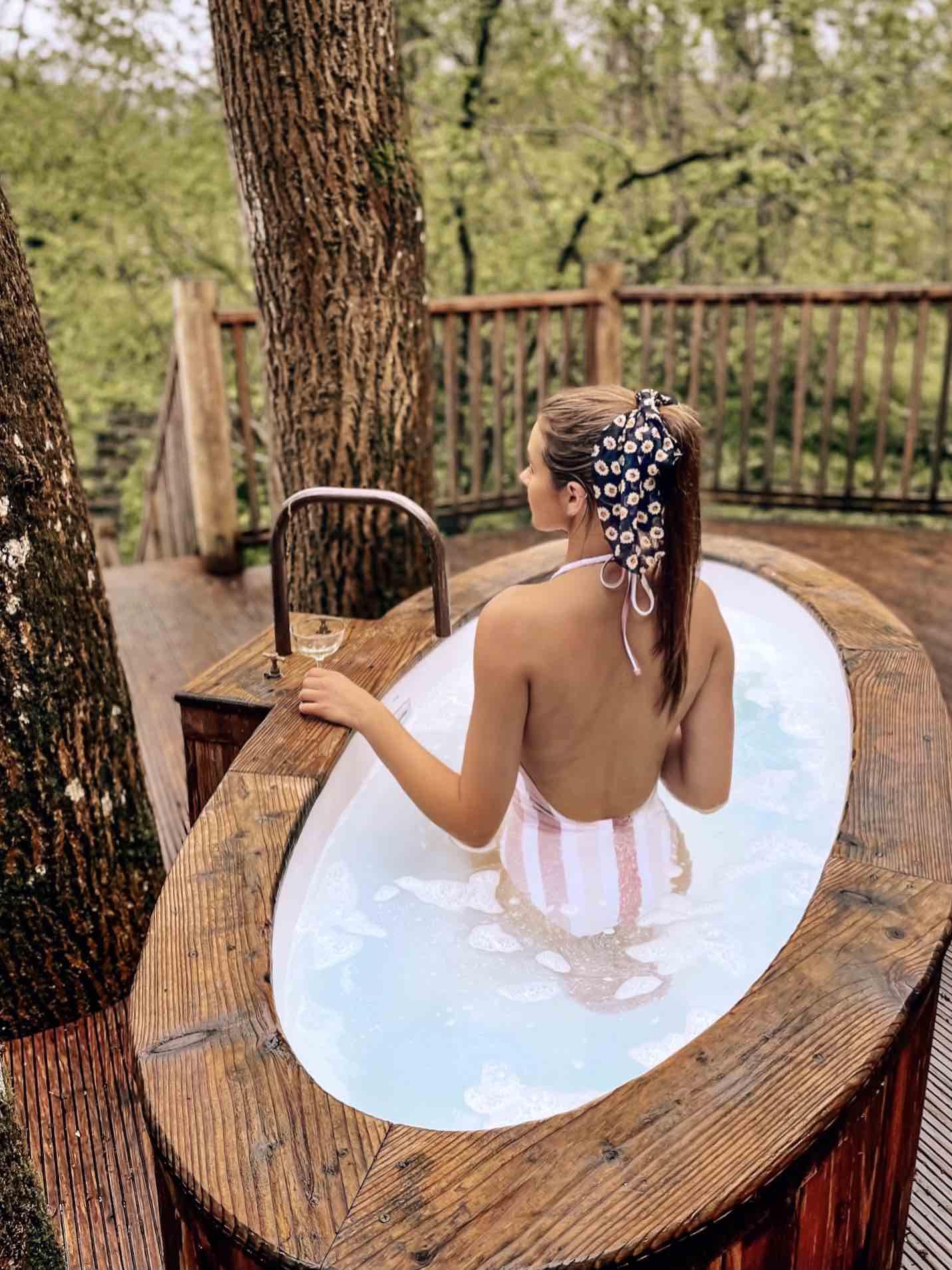 Bower Treehouse Outdoor Bath