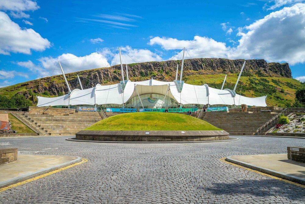 Dynamic Earth Edinburgh