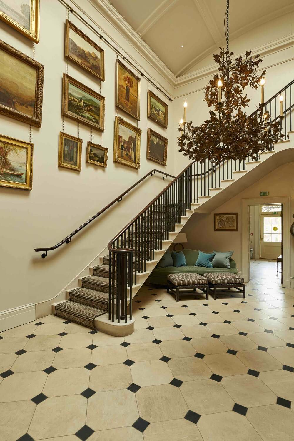 Lime Wood Hotel Staircase