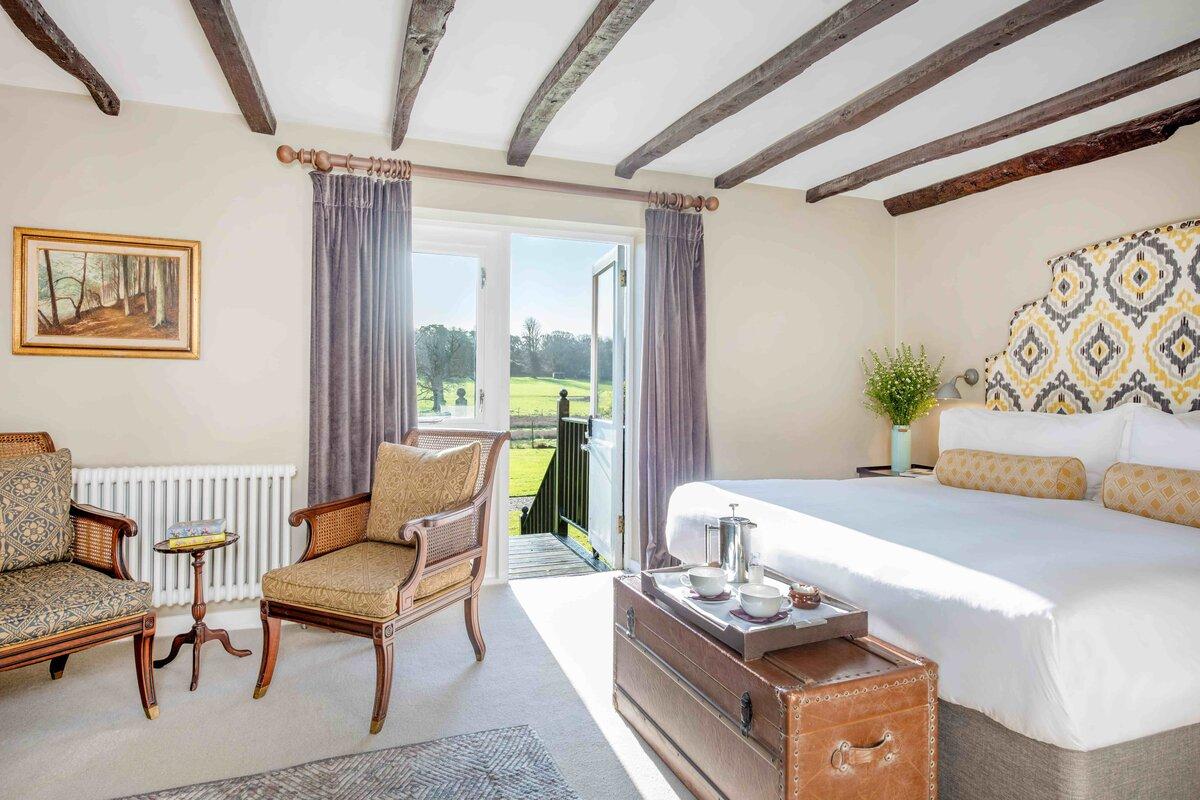 Burley Manor Bedroom