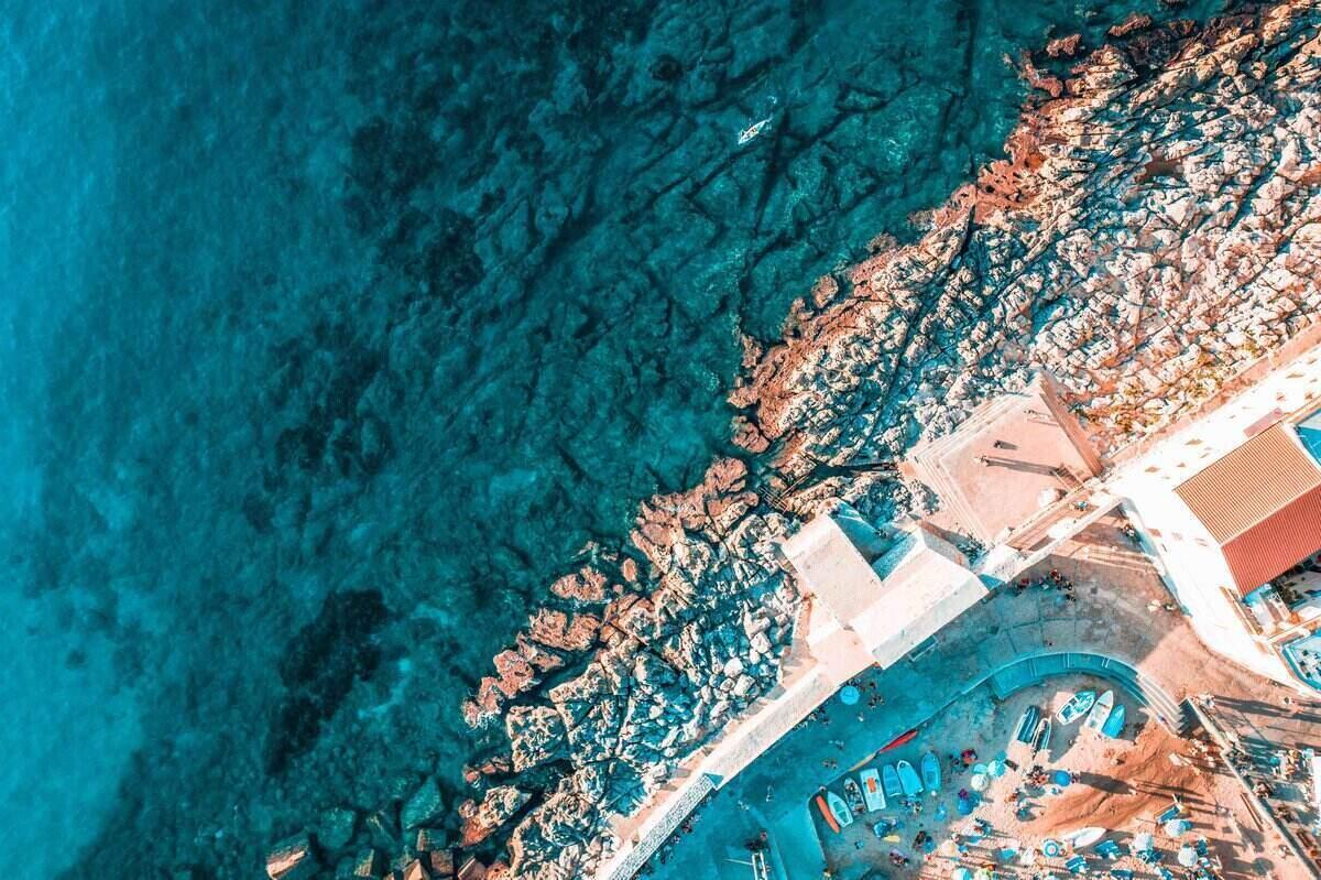 Cefalu Aerial Shot