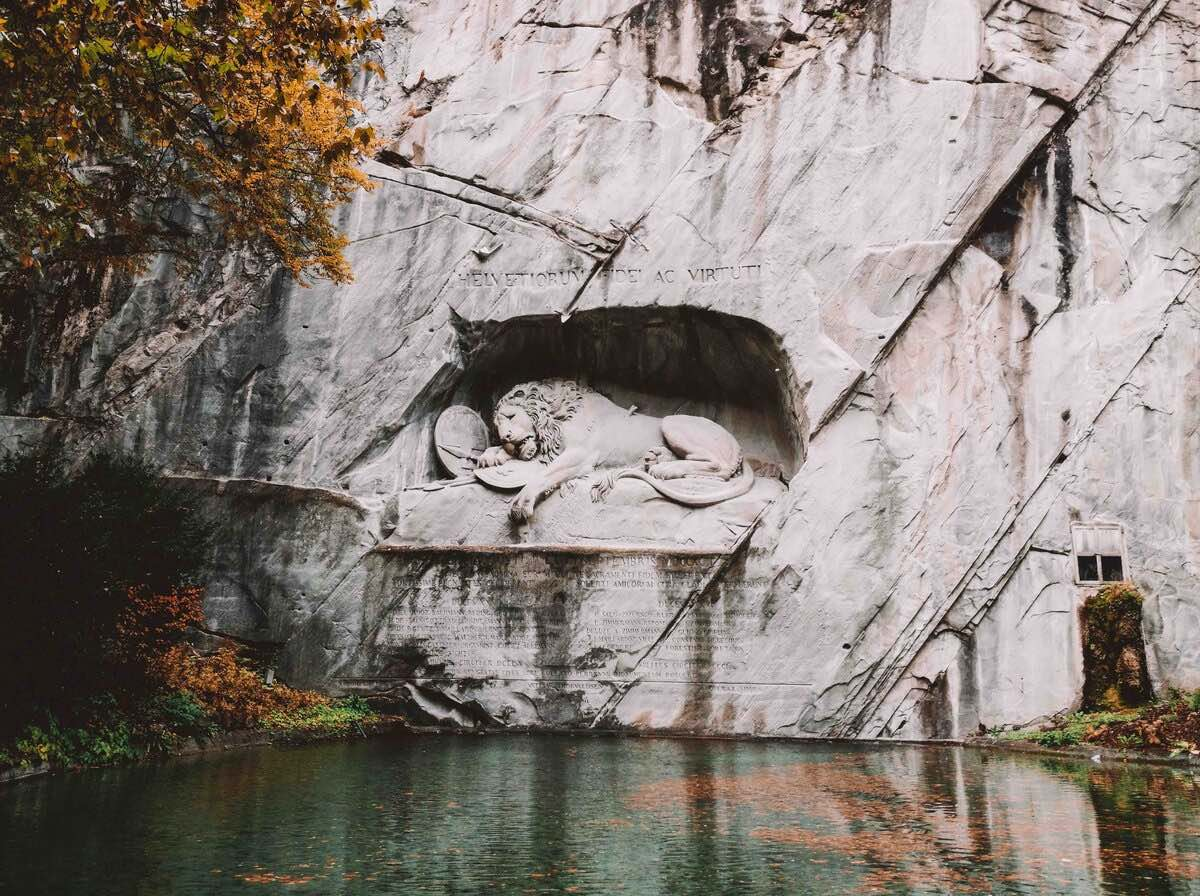 Dying Lion Monument