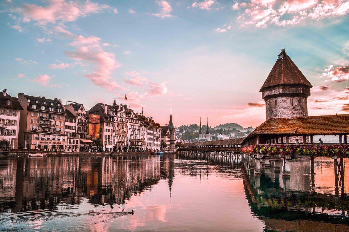 Lucerne Sunset