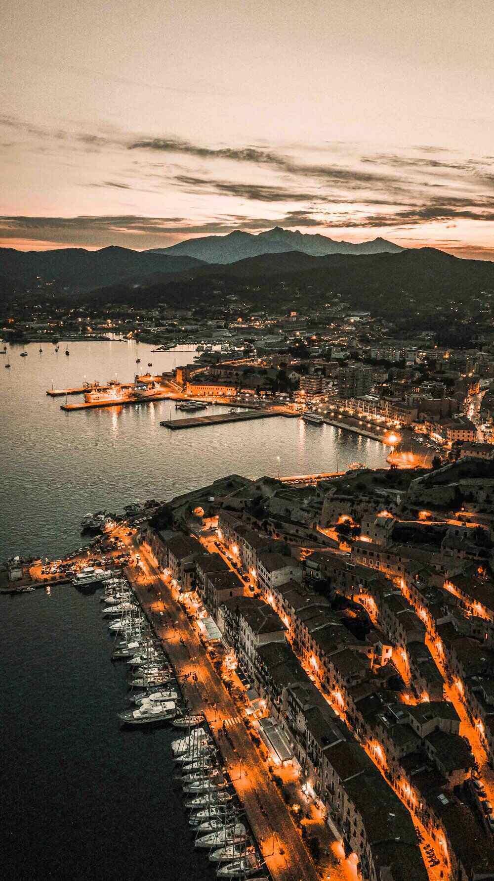 Portoferraio at Night