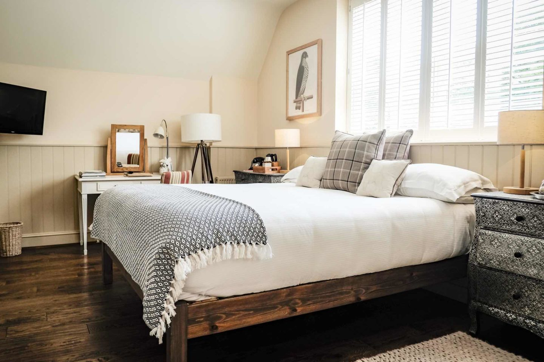 The White Buck Bedroom