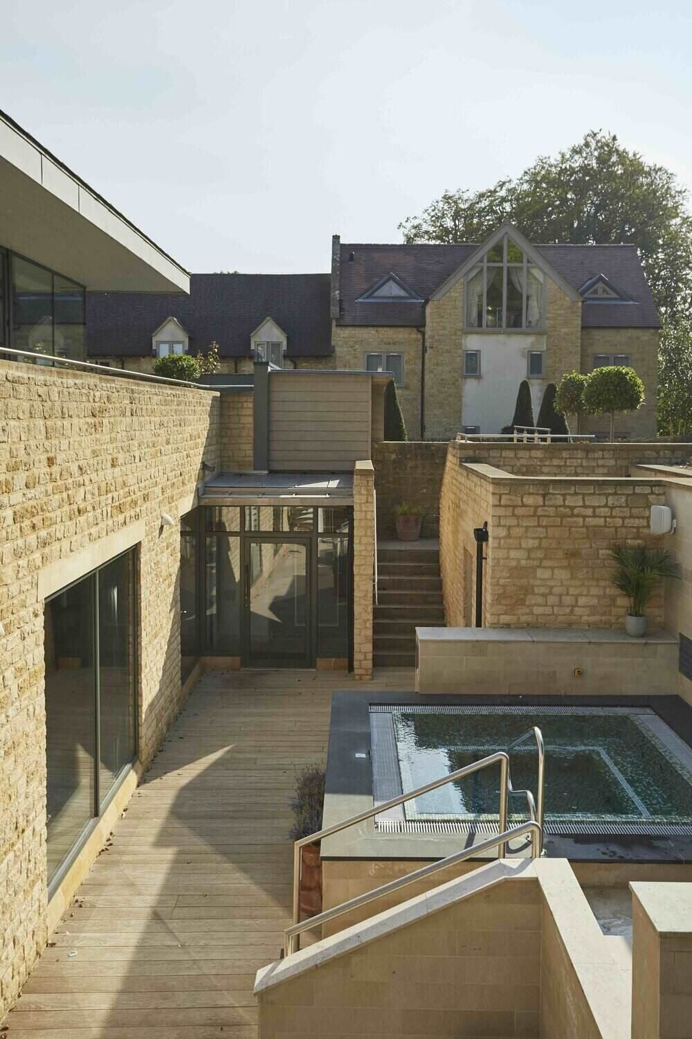 Dormy House Outdoor Spa