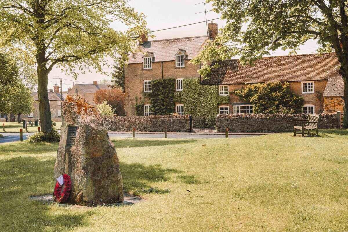 Cotswold village of Kingham, Oxfordshire