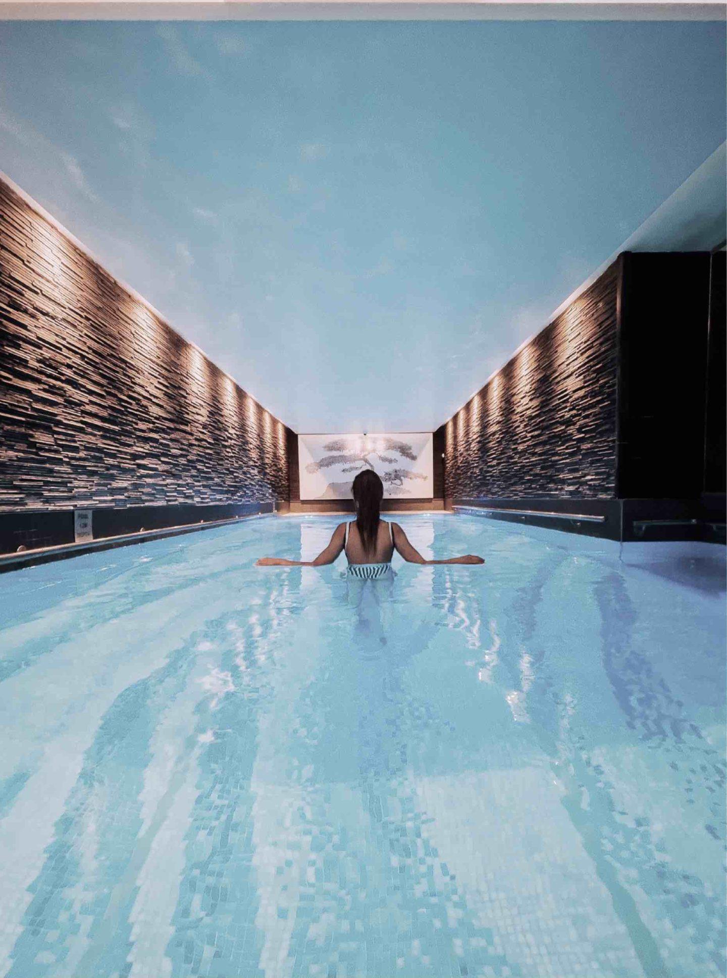 Langham Hotel Pool