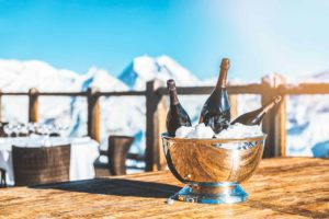 Luxury ski resort Meribel